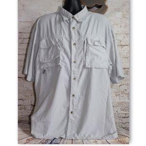Natural Gear Dry Vent River Mens S/S Fishing Shirt